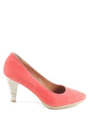 Fabiani High Heels rot Casual-Look