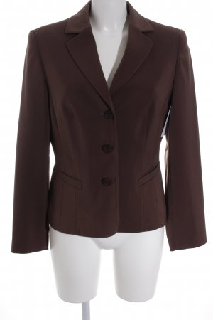Fabiani Kurz-Blazer braun Business-Look