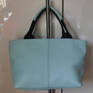 Fabiani Mini Bag baby blue leather
