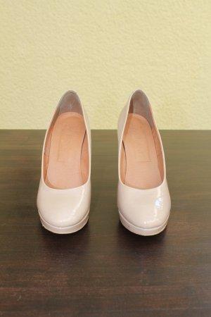 Fabiani High Heels dusky pink