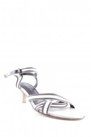 Fabiani Strapped pumps dark brown-natural white