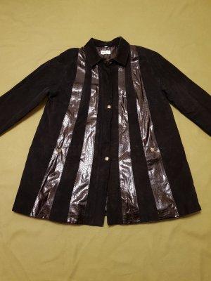 FABIANI schöne Echt Leder Jacke ,schwarz Gr. 42