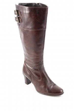 Fabiani High Boots brown casual look