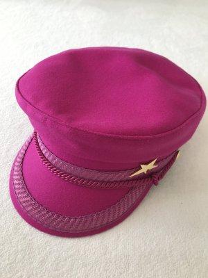 Fabienne Chapot Wollen hoed violet