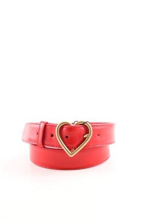Fabienne Chapot Leather Belt red street-fashion look