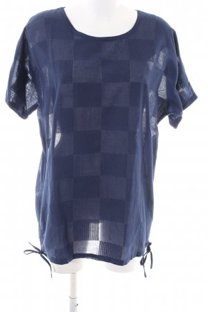 Fabindia Shirt Tunic blue check pattern casual look