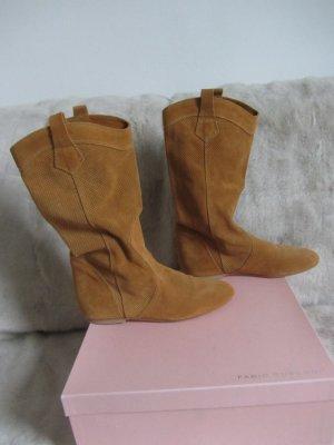 fabio rusconi Short Boots camel suede
