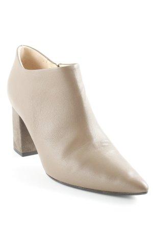 fabio rusconi Reißverschluss-Stiefeletten beige Business-Look