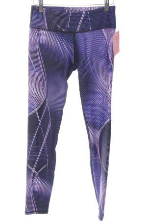 Fabletics Leggings Streifenmuster sportlicher Stil