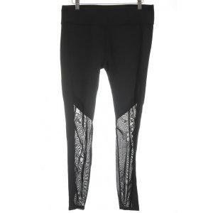 Fabletics Pantalon de sport noir style athlétique