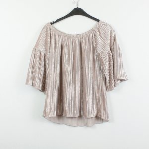Off the shoulder top rosé Polyester