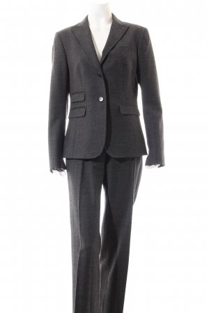 Fabrizio Lenzi Traje de pantalón gris antracita moteado estilo «business»
