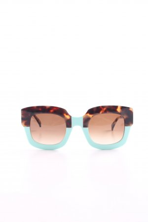 Face a face Retro Glasses leopard pattern casual look