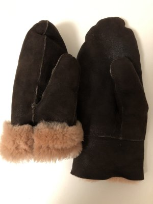 Fur Gloves multicolored