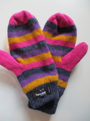 Thermal Gloves multicolored wool
