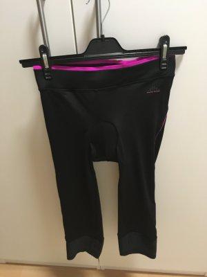 H&M Sport Pantalon de sport noir-magenta