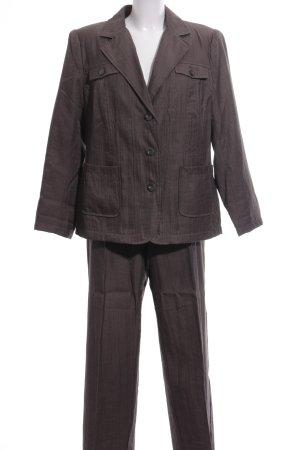 Fair Lady Tailleur pantalone marrone stile professionale