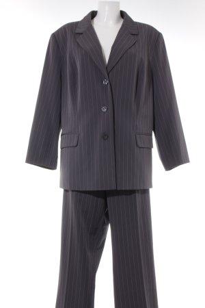 Fair Lady Broekpak grijs-wit krijtstreep zakelijke stijl