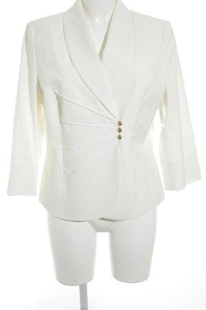 Fair Lady Blazer corto blanco puro elegante