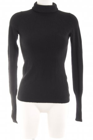 Fair Trade Cashmere Sudadera de cachemir negro look casual