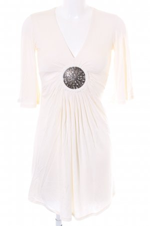 Faith connexion A-Linien Kleid creme Beach-Look