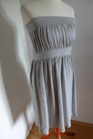 Faith Connexion Bandeau Kleid grau Gr. S