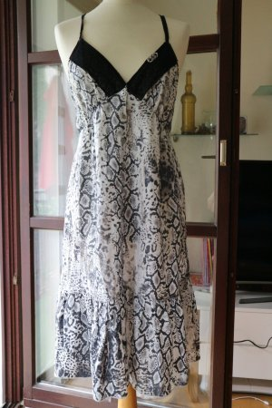FAITH CONNEXION  luftiges Kleid  Snakeprint 100% Baumwolle   - Gr. L