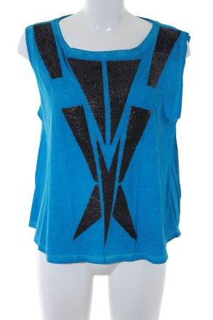 Faith connexion Oversized Shirt neon blue street-fashion look