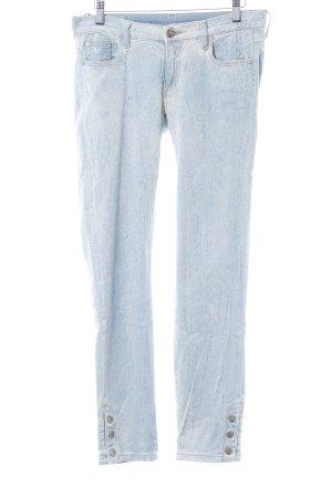 Faith connexion Skinny Jeans himmelblau-blassblau Batikmuster Urban-Look