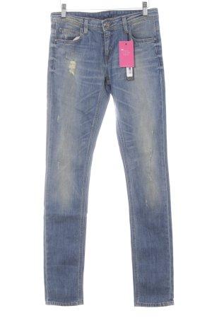 Faith connexion Skinny Jeans stahlblau Casual-Look