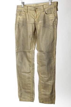 "Faith connexion Slim Jeans ""GOLD"" goldfarben"