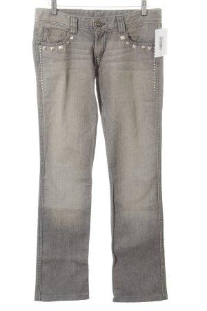 Faith connexion Straight-Leg Jeans grau Washed-Optik
