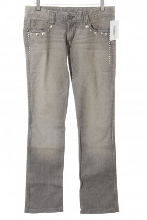 Faith connexion Straight Leg Jeans grey washed look