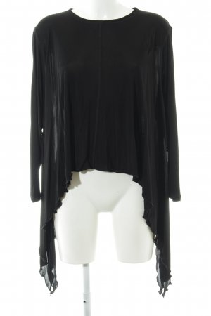 Faith connexion Transparenz-Bluse schwarz Elegant