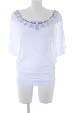 Faith connexion Boatneck Shirt natural white elegant