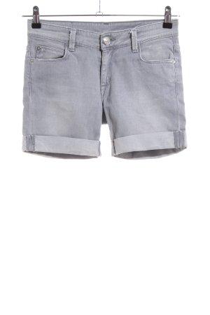 Faith Pantaloncino di jeans grigio chiaro stile casual