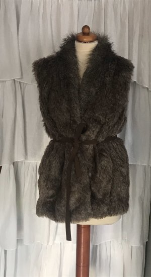 Atmosphere Fur vest multicolored