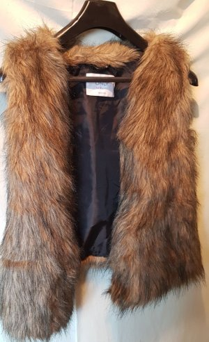 Only Fur vest multicolored