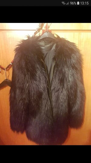 Fake Fur black Jacket