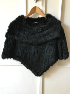 Fake Fur Cape