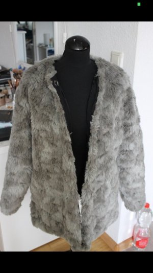 Fake fur Fell Jacke