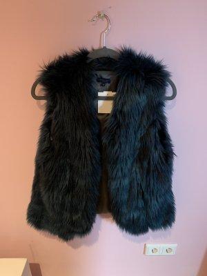 Darling Harbour Fur vest multicolored