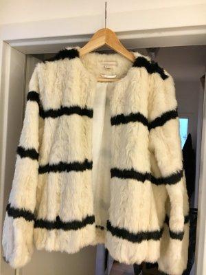 Fake Fur Jacke - french streetstyle Felljacke
