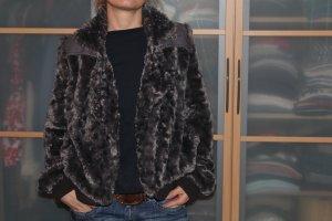 Fake Fur Jacke Gr.L GSUS