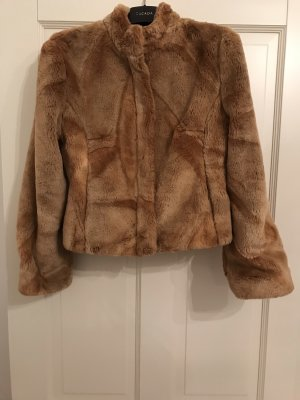 Alba Moda Fake Fur Jacket brown-light brown