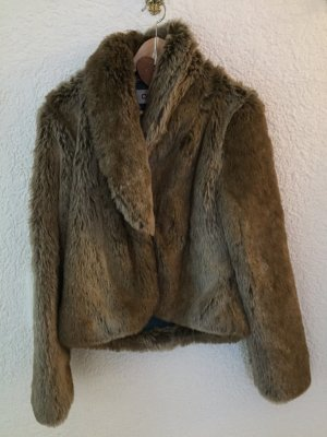 Fake Fur Jacke neuwertig Größe M