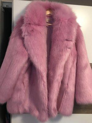 Fake Fur Jacke Pink - Bloggerjacke