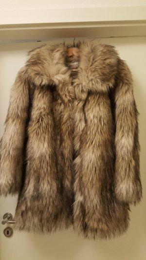 Fake Fur Jacke von H & M