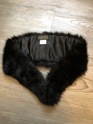 Fake Fur Kunst Fell Pelz Kragen Schal