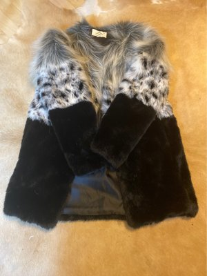 Urbancode Fake Fur Coat multicolored fake fur